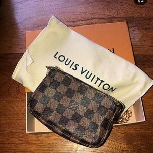 LV authentic crossbody wallet